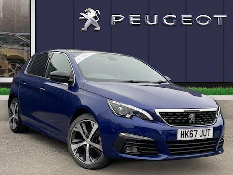 Peugeot 308 1.2 Puretech GT Line Hatchback 5dr Petrol Manual (s/s) (130 Ps) | HK67UUT