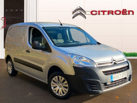 Citroen Berlingo 1.6 Bluehdi 850 Enterprise L1 Panel Van 5dr Diesel Manual (112 G/km, 100 Bhp) | HX67UTE