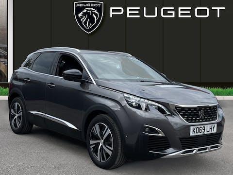 Peugeot 3008 1.5 Bluehdi GT Line SUV 5dr Diesel Eat (s/s) (130 Ps) | KO69LHY