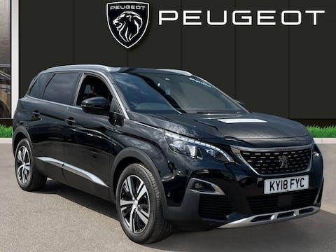 Peugeot 5008 1.6 Bluehdi GT Line SUV 5dr Diesel Eat (s/s) (120 Ps) | KY18FYC