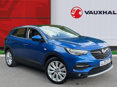 Vauxhall Grandland X 1.2 Turbo Elite Nav SUV 5dr Petrol Auto (s/s) (130 Ps) | LL70ZTX