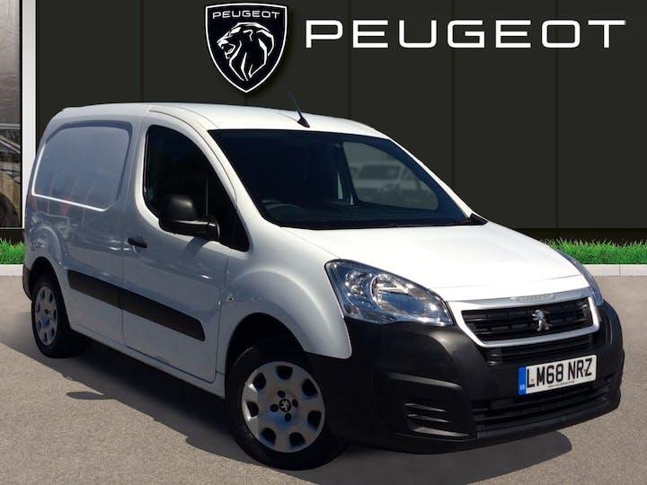 Peugeot Partner 1.6 Bluehdi Professional L1 Panel Van 5dr Diesel Manual (112 G/km, 97.64 Bhp)   LM68NRZ   Photo 1