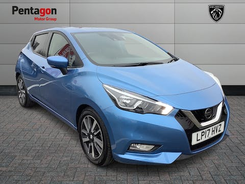 Nissan Micra 1.5 DCi N Connecta Hatchback 5dr Diesel Manual (s/s) (90 Ps) | LP17HVZ
