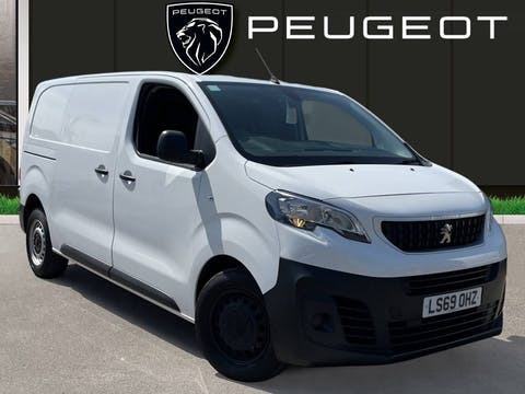 Peugeot Expert 2.0 Bluehdi 1400 Professional Standard Panel Van 6dr Diesel Manual SWB Eu6 (s/s) (120 Ps) | LS69OHZ