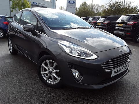Ford Fiesta 1.0t Ecoboost Zetec Hatchback 3dr Petrol Manual (s/s) (100 Ps) | MA18FVO