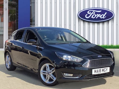 Ford Focus 1.0t Ecoboost Titanium Hatchback 5dr Petrol (s/s) (125 Ps) | MA18MGY