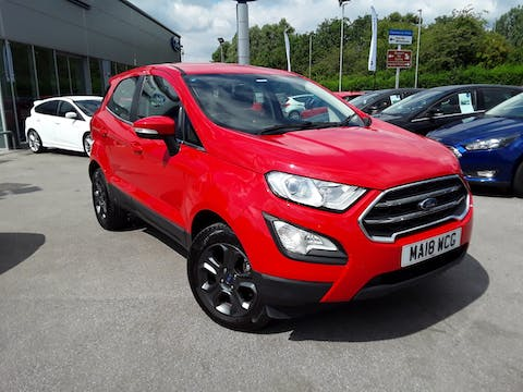 Ford EcoSport 1.0t Ecoboost Zetec SUV 5dr Petrol Manual (s/s) (125 Ps) | MA18WCG