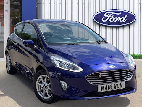 Ford Fiesta 1.1 Ti Vct Zetec Hatchback 3dr Petrol Manual (s/s) (85 Ps) | MA18WCV