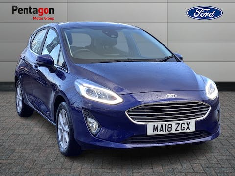 Ford Fiesta 1.1 Ti Vct Zetec Hatchback 5dr Petrol Manual (s/s) (85 Ps) | MA18ZGX