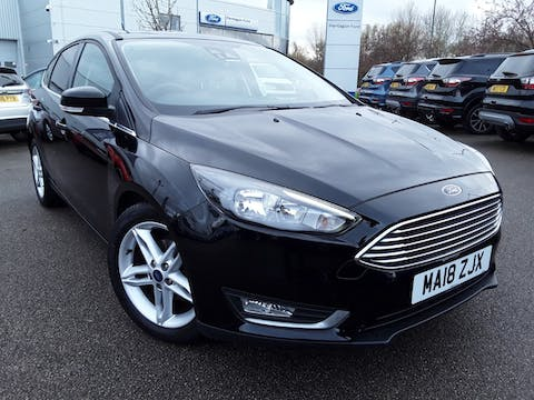Ford Focus 1.0t Ecoboost Titanium Hatchback 5dr Petrol (s/s) (125 Ps) | MA18ZJX