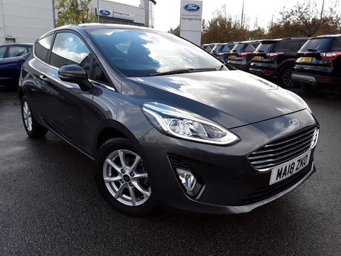 Ford Fiesta 1.1 Ti Vct Zetec Hatchback 3dr Petrol Manual (s/s) (85 Ps) | MA18ZKO