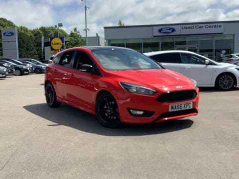 Ford Focus 2.0 TDCi Zetec S Red Edition Hatchback 5dr Diesel (s/s) (150 Ps) | MA66XPC