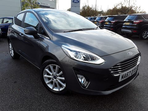 Ford Fiesta 1.0t Ecoboost Titanium Hatchback 5dr Petrol Manual (s/s) (100 Ps) | MA67DTO
