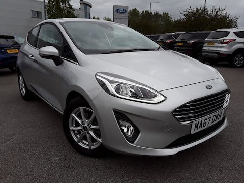 Ford Fiesta 1.1 Ti Vct Zetec Hatchback 3dr Petrol Manual (s/s) (85 Ps) | MA67DWN