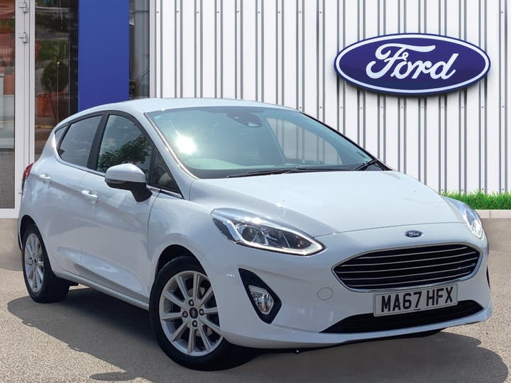 Ford Fiesta 1.0t Ecoboost Titanium Hatchback 5dr Petrol Manual (s/s) (100 Ps) | MA67HFX | Photo 1