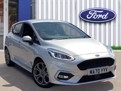 Ford Fiesta 1.0t Ecoboost Mhev St Line Edition Hatchback 5dr Petrol Manual (s/s) (125 Ps) | MA70YYV
