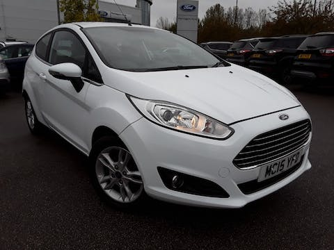 Ford Fiesta 1.25 Zetec Hatchback 3dr Petrol Manual (122 G/km, 81 Bhp) | MC15YFD