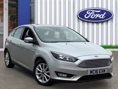 Ford Focus 1.0t Ecoboost Titanium Hatchback 5dr Petrol (s/s) (125 Ps) | MC16EXW