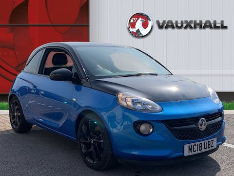 Vauxhall Adam 1.2i Energised Black Jack Hatchback 3dr Petrol (70 Ps) | MC18UBZ