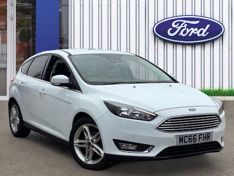 Ford Focus 1.0t Ecoboost Titanium Hatchback 5dr Petrol (s/s) (125 Ps) | MC66FHR