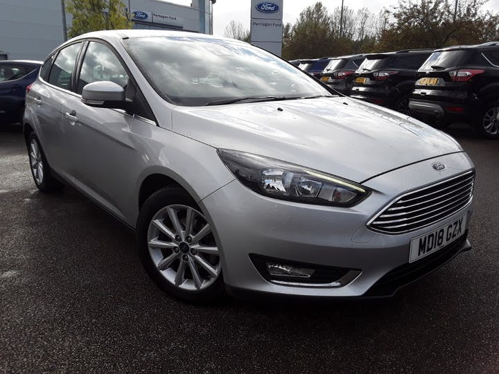 Ford Focus 1.0t Ecoboost Titanium Hatchback 5dr Petrol (s/s) (125 Ps) | MD18GZX | Photo 1