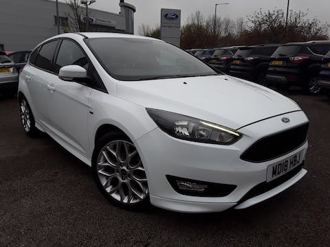 Ford Focus 1.5 TDCi St Line Hatchback 5dr Diesel (s/s) (120 Ps) | MD18HBJ
