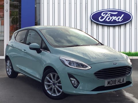 Ford Fiesta 1.0t Ecoboost Titanium Bandamp;o Play Series Hatchback 5dr Petrol Manual (s/s) (125 Ps) | MD18HLA