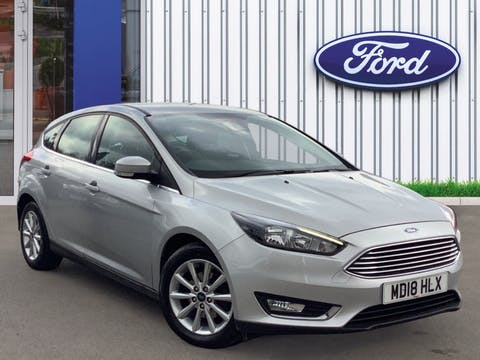 Ford Focus 1.5 TDCi Titanium Hatchback 5dr Diesel (s/s) (120 Ps) | MD18HLX