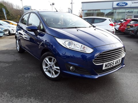 Ford Fiesta 1.0 Ecoboost Zetec 5dr | MD65AKX