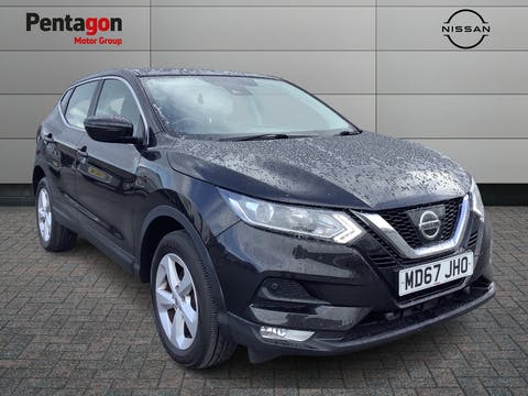 Nissan Qashqai 1.5 DCi Acenta SUV 5dr Diesel Manual (s/s) (110 Ps) | MD67JHO