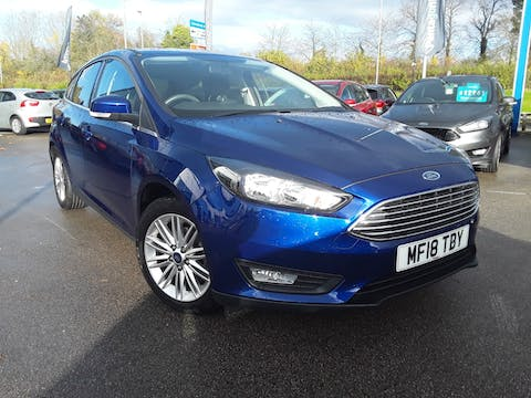 Ford Focus 1.0 Ecoboost Zetec Edition 5dr | MF18TBY