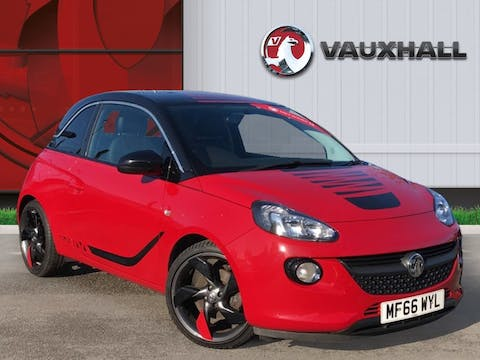 Vauxhall Adam 1.0i Turbo Ecoflex Slam Hatchback 3dr Petrol (s/s) (115 Ps) | MF66WYL