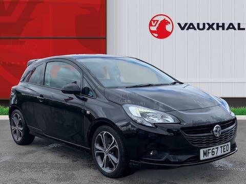 Vauxhall Corsa 1.4i Turbo Black Edition Hatchback 3dr Petrol (s/s) (150 Ps) | MF67TEO