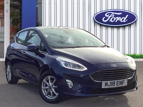 Ford Fiesta 1.1 Ti Vct Zetec Hatchback 5dr Petrol Manual (s/s) (85 Ps) | MJ18ENF