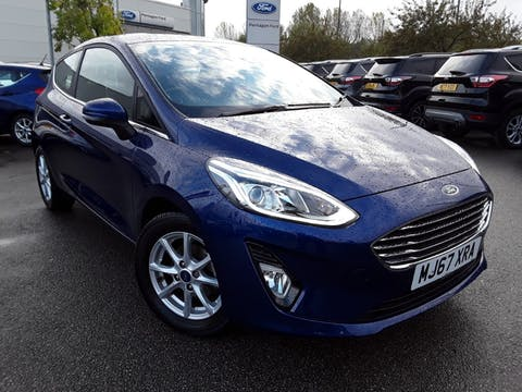 Ford Fiesta 1.0t Ecoboost Zetec Hatchback 3dr Petrol Manual (s/s) (100 Ps) | MJ67XRA