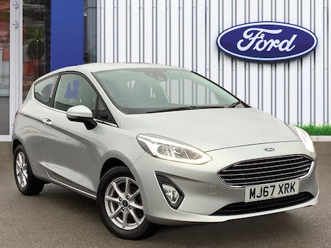 Ford Fiesta 1.1 Ti Vct Zetec Hatchback 3dr Petrol Manual (s/s) (85 Ps) | MJ67XRK