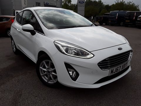 Ford Fiesta 1.0t Ecoboost Zetec Hatchback 3dr Petrol Manual (s/s) (100 Ps) | MJ67XRT