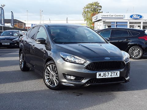 Ford Focus 1.0 Ecoboost 140PS ST-line Navigation 5dr | MJ67ZTX