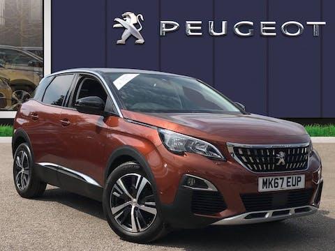 Peugeot 3008 1.2 Puretech Allure 5dr Eat6 Auto | MK67EUP