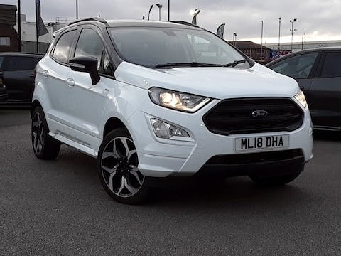 Ford EcoSport 1.0t Ecoboost St Line SUV 5dr Petrol Manual (s/s) (125 Ps) | ML18DHA