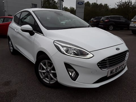 Ford Fiesta 1.0t Ecoboost Zetec Hatchback 3dr Petrol Manual (s/s) (100 Ps) | ML18PTZ