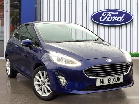Ford Fiesta 1.0t Ecoboost Titanium Hatchback 3dr Petrol Manual (s/s) (100 Ps) | ML18XUW