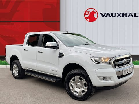 Ford Ranger 2.2 TDCi Limited 1 Double Cab Pickup 4dr Diesel Manual 4wd (s/s) (eco Axle) (160 Ps) | ML19NXS