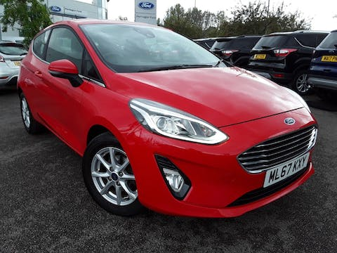 Ford Fiesta 1.0t Ecoboost Zetec Hatchback 3dr Petrol Manual (s/s) (100 Ps) | ML67KXY
