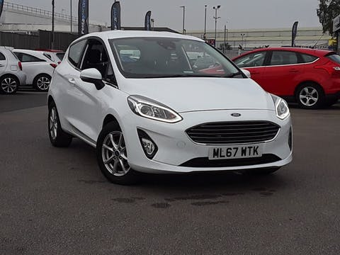 Ford Fiesta 1.1 Ti Vct Zetec Hatchback 3dr Petrol Manual (s/s) (85 Ps) | ML67WTK