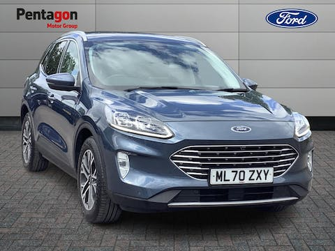 Ford Kuga 1.5 Ecoblue Titanium First Edition SUV 5dr Diesel Manual (s/s) (120 Ps) | ML70ZXY