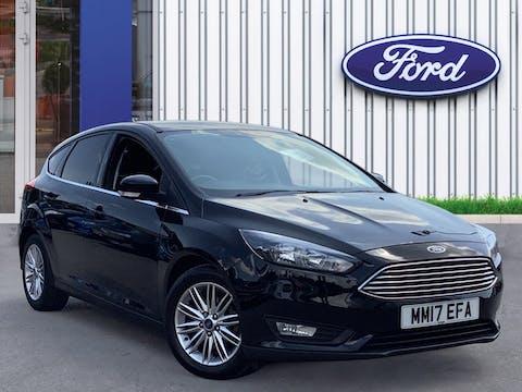Ford Focus 1.0t Ecoboost Zetec Edition Hatchback 5dr Petrol (s/s) (100 Ps) | MM17EFA