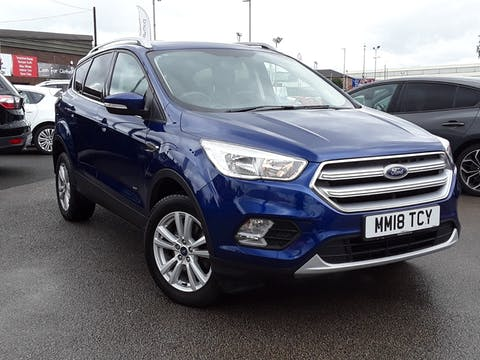 Ford Kuga 2.0 TDCi Ecoblue Zetec SUV 5dr Diesel Manual Awd (s/s) (150 Ps) | MM18TCY