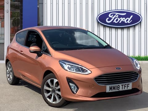 Ford Fiesta 1.1 Ti Vct Zetec B And O Play Series Hatchback 3dr Petrol Manual (s/s) (85 Ps) | MM18TFF