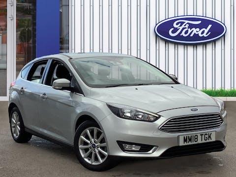 Ford Focus 1.0t Ecoboost Titanium Hatchback 5dr Petrol (s/s) (125 Ps)   MM18TGK
